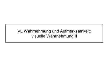 06_Visuelle Wahrnehmung II