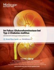 Im Fokus: Glukosehomöostase bei Typ-2-Diabetes ... - Medscape