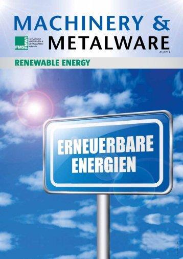 Machinery & Metalware 1 - Advantage Austria
