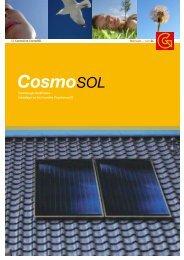 Solaranlagen aus dem CosmoLine -Programm von GC - Koop ...