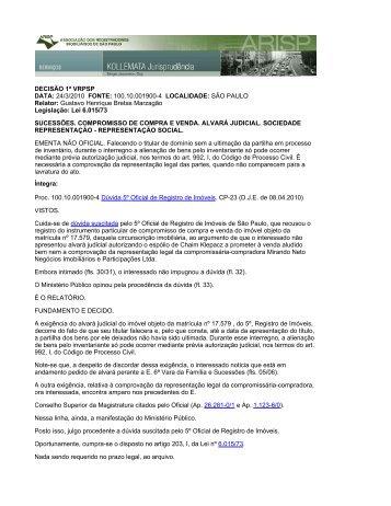 Versão em PDF - Quinto Cartório de Registro de Imóveis