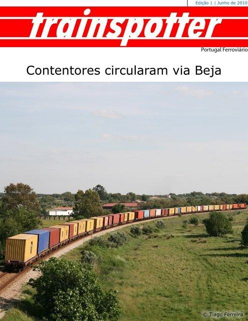 Contentores circularam via Beja - Portugal Ferroviário