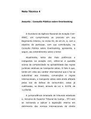 Nota técnica 4 - Consulta Pública sobre Overbooking - Anac