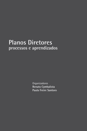 Planos Diretores: processos e aprendizados - Polis