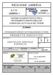REGIONE UMBRIA 3 2 - Umbra Acque