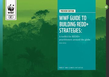WWF Guide to Building REDD+ Strategies