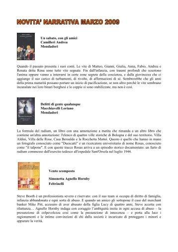 Marzo 2009 - Narrativa.pdf - Comune di Trebaseleghe