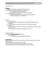 Handelsbilanzielle Risikovorsorge der Kreditinstitute nach HGB und ...