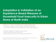 1. Development and Validation of an Experience-Based Measure of ...