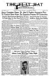 Dance Committee Hopes To Contract Gene Krupa Dr. John E ...