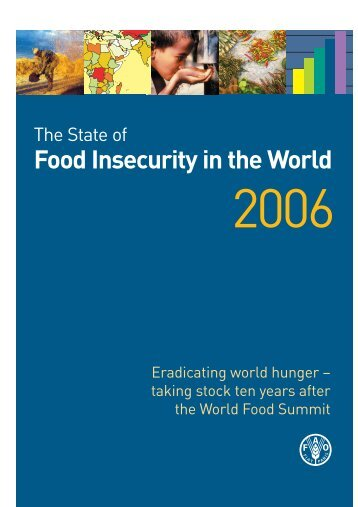 Food insecurity in the world 2006 - Fome Zero