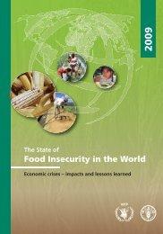 Food Insecurity in the World - Cooperazione Italiana allo Sviluppo