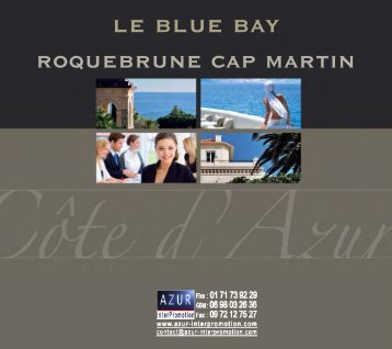 06 Roquebrune Cap Martin - Blue Bay - Azur InterPromotion