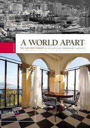 A WORLD APART - Miells & Partners