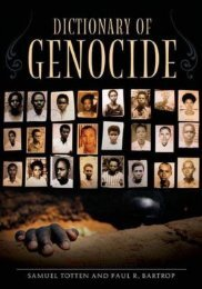 Dictionary of Genocide - D Ank Unlimited