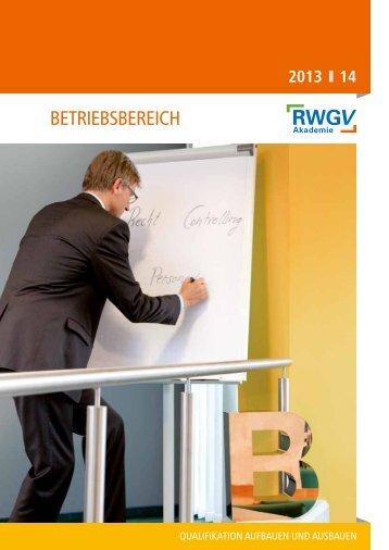 betriebsbereich - Rheinisch-Westfälische Genossenschaftsakademie