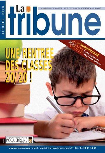Télécharger la Tribune N° 31 - Roquebrune-sur-Argens