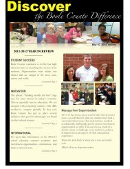 Publication 2012 - Boyle County Schools District