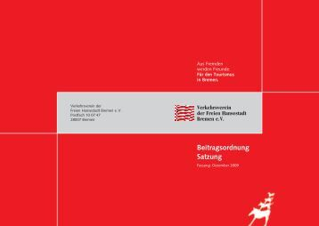 Download - Verkehrsverein Bremen
