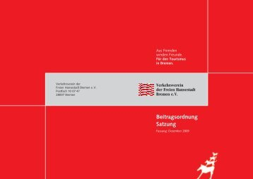 Download - Verkehrsverein Bremen