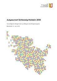 Schleswig-Holstein 2030