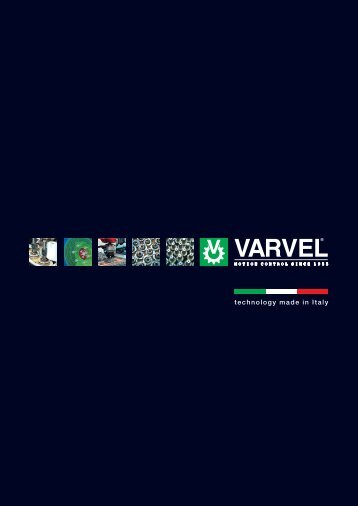 technology made in Italy - Varvel SpA