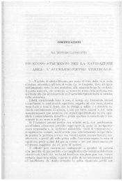 L. Laboccetta – Un nuovo strumento per la navigazione aerea
