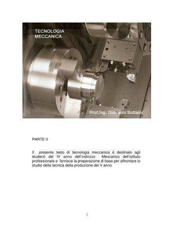 Tecnologia Meccanica 2 - Sismondi-Pacinotti