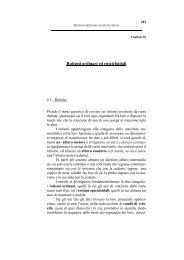 Capitolo 10 - Rotismi ordinari ed epicicloidali