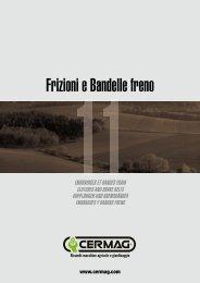 Frizioni e Bandelle freno - Cermag