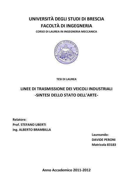 Trasmissioni Veicoli Industriali - Gruppo Autoveicoli