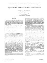 Weighted Threshold RSA Based on the Chinese Remainder Theorem