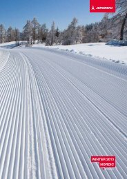 Winter 2013 nOrDiC - Amersports