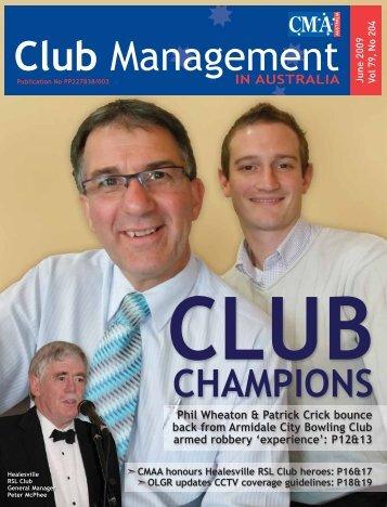 CMA Magazine June 2009 - CMAA