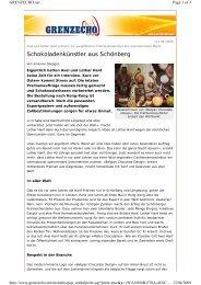 Schokoladenkünstler aus Schönberg - BELGIAN CHOCOLATE Design