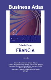 Scheda Paese Francia 2009