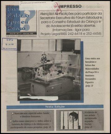 IMPRESSO - Centro de Documentação e Pesquisa Vergueiro