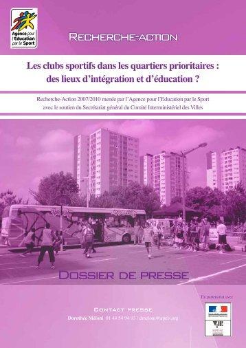 Dossier de presse - Comité Départemental Olympique et Sportif de ...