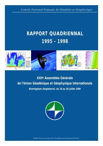 Rapport Quadriennal 1999 - WebFTP OMP - Observatoire Midi ...