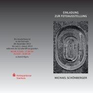 einladung zur fotoausstellung michael schönberger - Wolfspark ...