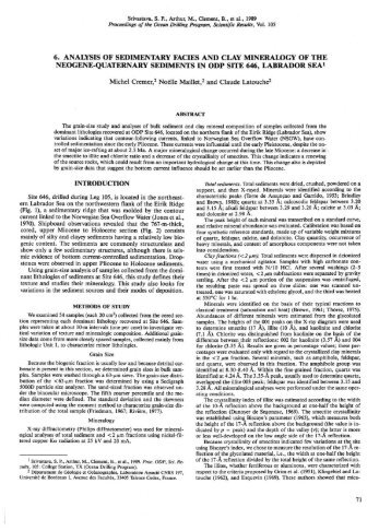 an analysis of the topic of the sedimentary rock Analyzing the thermal history of sedimentary basins: methods and case studies editors: nicholas b harris and kenneth e peters contents postdepositional heating of sedimentary rocks, apatite fission track analysis (afta ) can also define the.