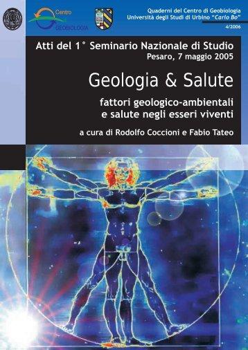 Geologia & Salute - AGMItalia