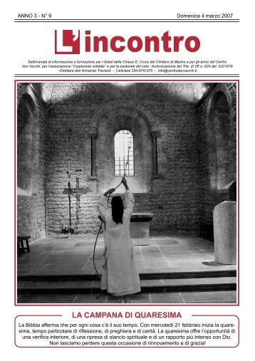 4 marzo 2007 - Il Centro don Vecchi