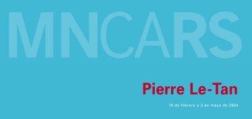 04010_Pierre Le Tan.indb - Museo Nacional Centro de Arte Reina ...