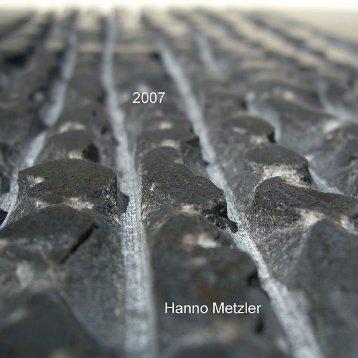 Skulpturen 2007 - Metzler, Hanno