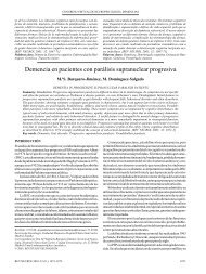Demencia en pacientes con parálisis supranuclear progresiva (41 ...