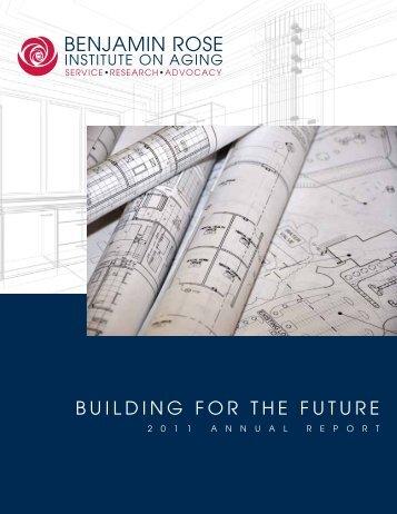 2011 - Benjamin Rose Institute