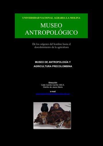 MUSEO ANTROPOLÓGICO - Universidad Nacional Agraria La Molina