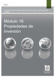 Módulo 16: Propiedades de Inversión
