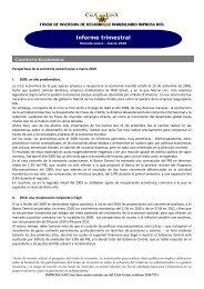 Informe Trimestral de Enero-Marzo 2010 - Improsa